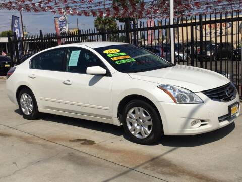 2012 Nissan Altima for sale at El Guero Auto Sale in Hawthorne CA