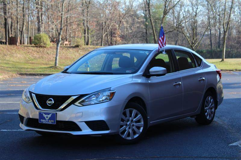 2017 Nissan Sentra for sale at Quality Auto in Manassas VA