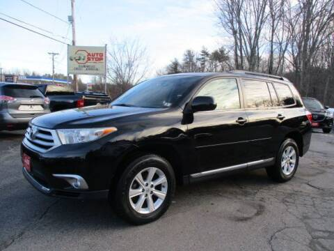 2011 Toyota Highlander for sale at AUTO STOP INC. in Pelham NH