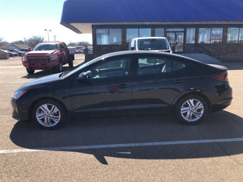 2019 Hyundai Elantra for sale at BUDGET CAR SALES in Amarillo TX