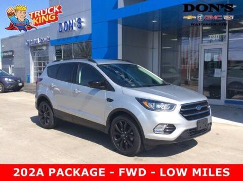 2019 Ford Escape for sale at DON'S CHEVY, BUICK-GMC & CADILLAC in Wauseon OH