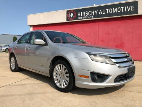 2010 Ford Fusion Hybrid for sale at Hirschy Automotive in Fort Wayne IN