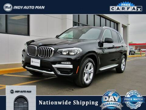2018 BMW X3 for sale at INDY AUTO MAN in Indianapolis IN