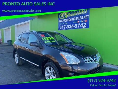 2011 Nissan Rogue for sale at PRONTO AUTO SALES INC in Indianapolis IN