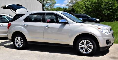2014 Chevrolet Equinox for sale at PINNACLE ROAD AUTOMOTIVE LLC in Moraine OH