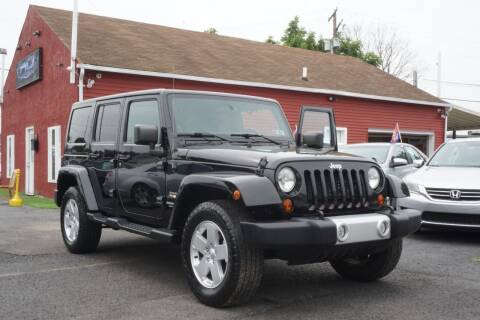 2012 Jeep Wrangler Unlimited for sale at HD Auto Sales Corp. in Reading PA