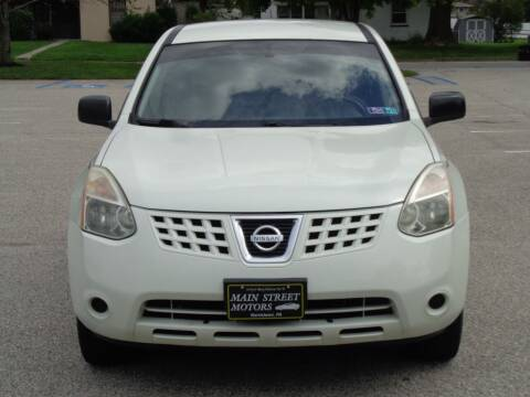 2008 Nissan Rogue for sale at MAIN STREET MOTORS in Norristown PA