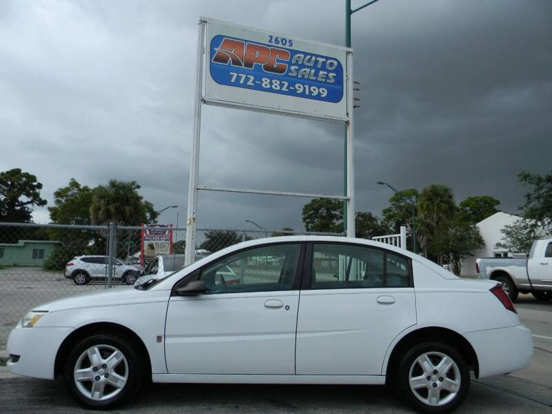 2006 Saturn Ion for sale at APC Auto Sales in Fort Pierce FL