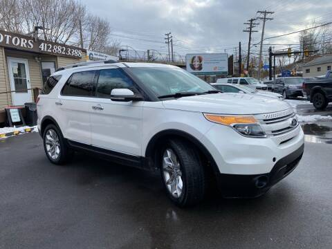 2013 Ford Explorer for sale at Ultra 1 Motors in Pittsburgh PA