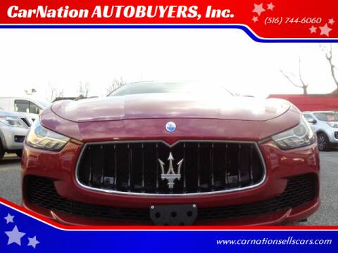 2015 Maserati Ghibli for sale at CarNation AUTOBUYERS, Inc. in Rockville Centre NY