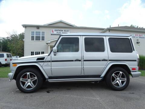 2005 Mercedes-Benz G-Class for sale at SOUTHERN SELECT AUTO SALES in Medina OH