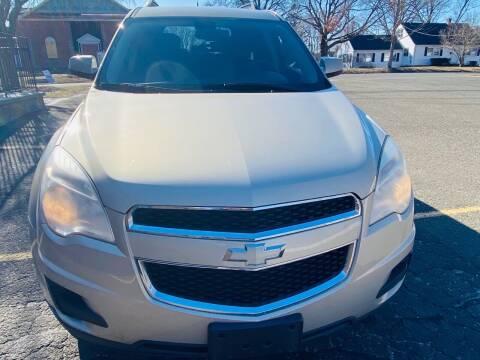 2010 Chevrolet Equinox for sale at AR's Used Car Sales LLC in Danbury CT