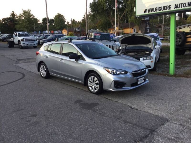 2019 Subaru Impreza for sale at Giguere Auto Wholesalers in Tilton NH