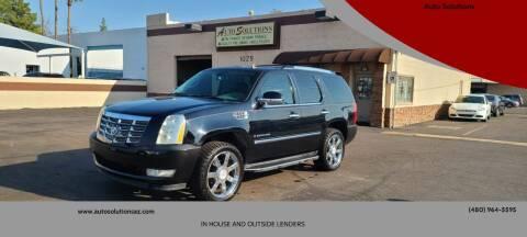 2007 Cadillac Escalade for sale at Auto Solutions in Mesa AZ