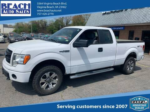 2013 Ford F-150 for sale at Beach Auto Sales in Virginia Beach VA