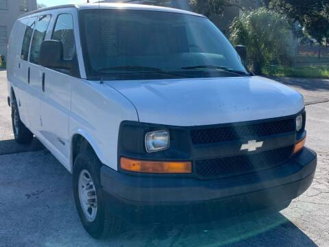 2006 Chevrolet Express Cargo for sale at Consumer Auto Credit in Tampa FL