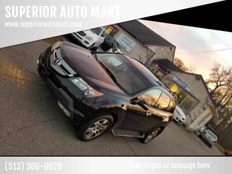 2007 Acura MDX for sale at SUPERIOR AUTO MART in Amelia OH