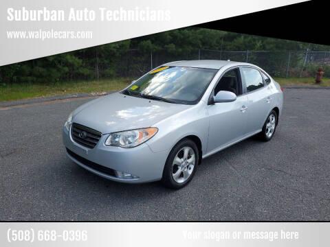2009 Hyundai Elantra for sale at Suburban Auto Technicians LLC in Walpole MA