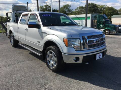 2012 Ford F-150 for sale at I-80 Auto Sales in Hazel Crest IL