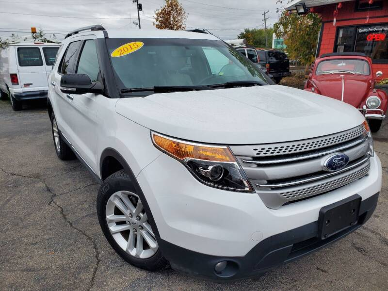 2015 Ford Explorer for sale at Mass Auto Exchange in Framingham MA