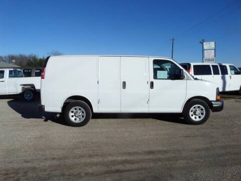 2011 Chevrolet Express Cargo for sale at AUTO FLEET REMARKETING, INC. in Van Alstyne TX