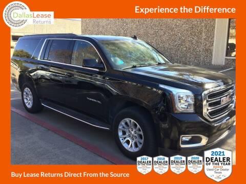 2017 GMC Yukon XL for sale at Dallas Auto Finance in Dallas TX