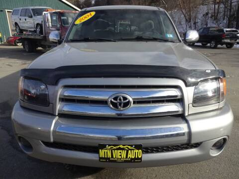 2004 Toyota Tundra for sale at MOUNTAIN VIEW AUTO in Lyndonville VT