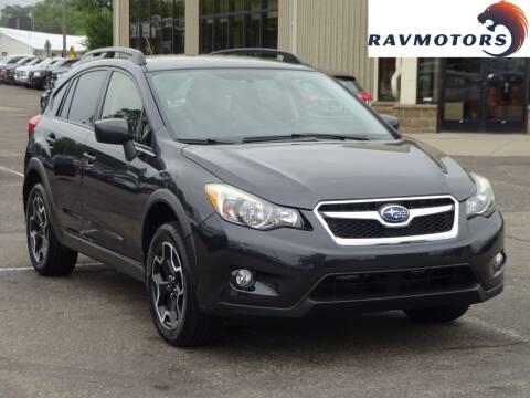 2015 Subaru XV Crosstrek for sale at RAVMOTORS 2 in Crystal MN