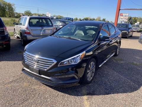 2017 Hyundai Sonata for sale at Northtown Auto Sales in Spring Lake MN