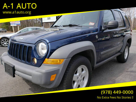 2005 Jeep Liberty for sale at A-1 Auto in Pepperell MA