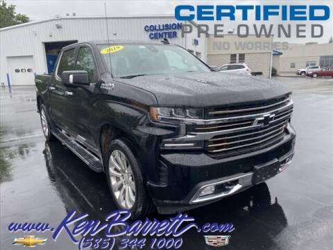 2019 Chevrolet Silverado 1500 for sale at KEN BARRETT CHEVROLET CADILLAC in Batavia NY