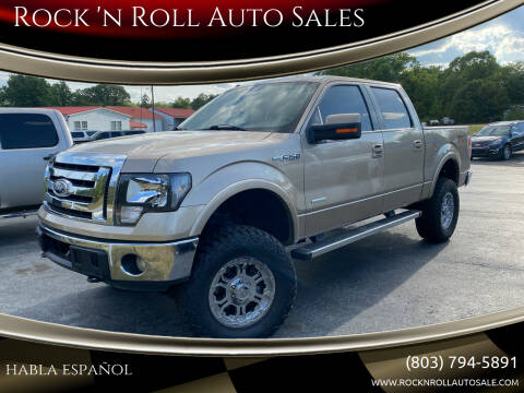 2011 Ford F-150 for sale at Rock 'n Roll Auto Sales in West Columbia SC