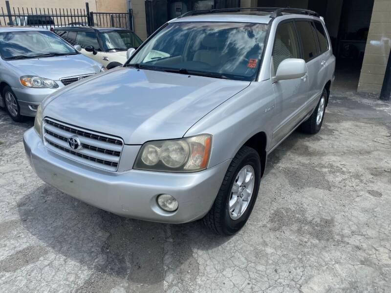 2002 Toyota Highlander for sale at 101 Auto Sales in Sacramento CA