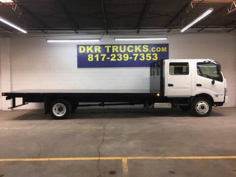 2018 Hino 195 for sale at DKR Trucks in Arlington TX