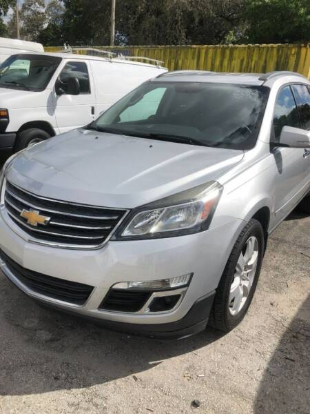 2017 Chevrolet Traverse for sale at H.A. Twins Corp in Miami FL