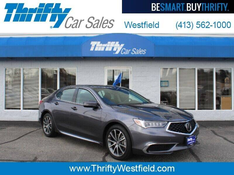 2018 Acura TLX for sale at Thrifty Car Sales Westfield in Westfield MA