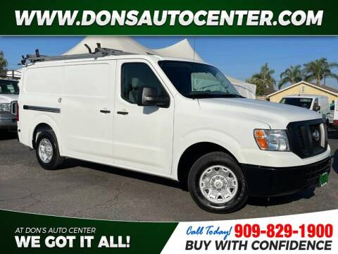 2020 Nissan NV Cargo for sale at Dons Auto Center in Fontana CA