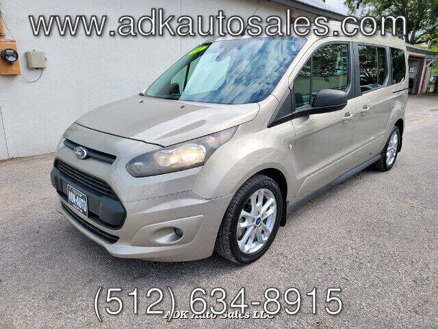 2014 Ford Transit Connect Wagon for sale at ADK AUTO SALES LLC in Austin TX