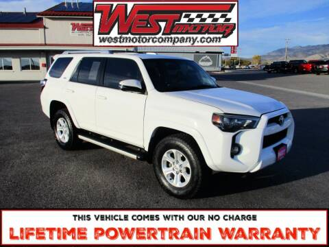 2018 Toyota 4Runner for sale at West Motor Company in Hyde Park UT