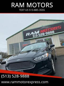 2016 Ford Fusion for sale at RAM MOTORS in Cincinnati OH
