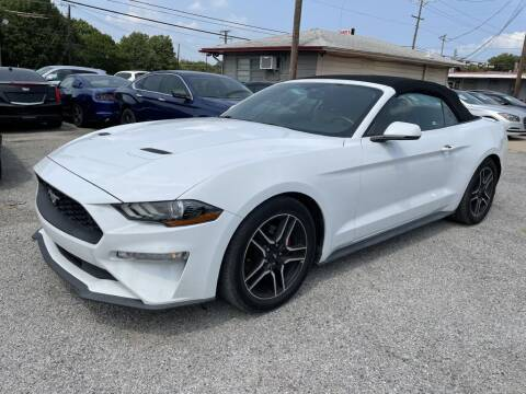 2018 Ford Mustang for sale at Pary's Auto Sales in Garland TX