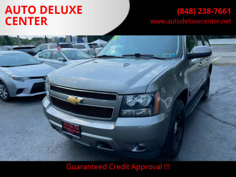 2012 Chevrolet Tahoe for sale at AUTO DELUXE CENTER in Toms River NJ
