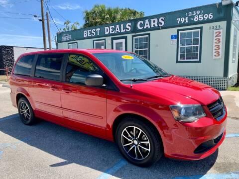 2015 Dodge Grand Caravan for sale at Best Deals Cars Inc in Fort Myers FL
