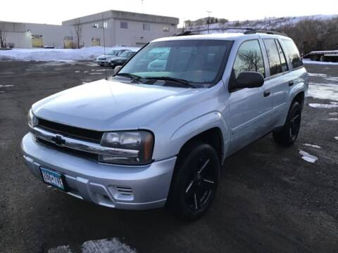 2007 Chevrolet TrailBlazer for sale at Sparkle Auto Sales in Maplewood MN
