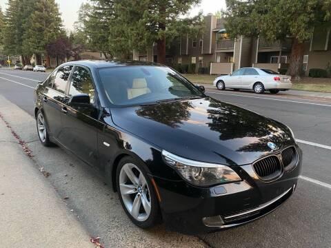 2010 BMW 5 Series for sale at LG Auto Sales in Rancho Cordova CA