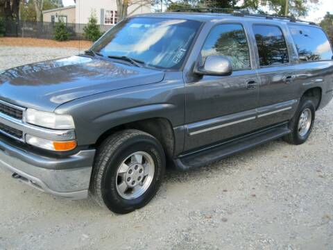 2001 Chevrolet Suburban for sale at WALLBURG AUTO SALES LLC in Winston Salem NC