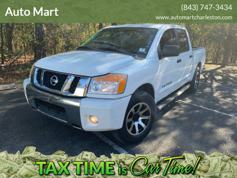 2011 Nissan Titan for sale at Auto Mart in North Charleston SC
