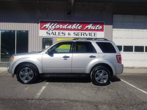 2011 Ford Escape for sale at Affordable Auto Sales & Service in Berkeley Springs WV