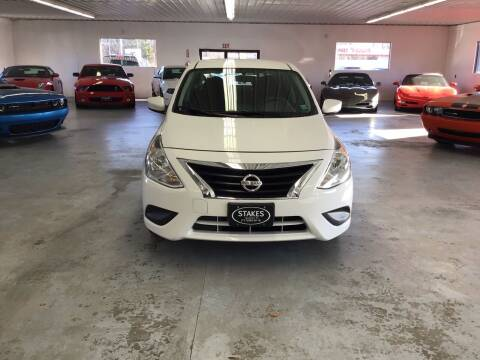 2018 Nissan Versa for sale at Stakes Auto Sales in Fayetteville PA