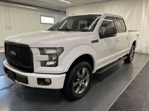 2016 Ford F-150 for sale at Monster Motors in Michigan Center MI